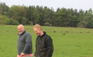 Adam and Sandy, Scottish Borders Farmers and owners of Oink